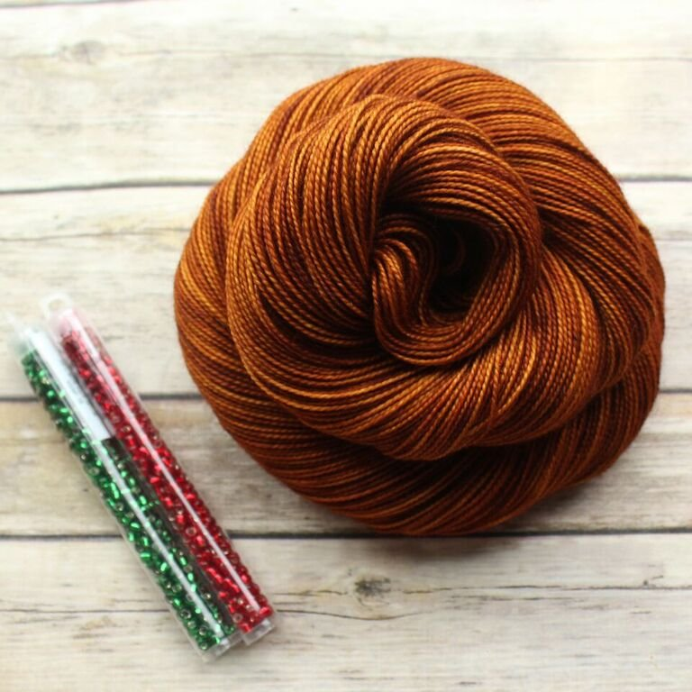 Brew City Yarns - Gingerbread Cowlette Kit