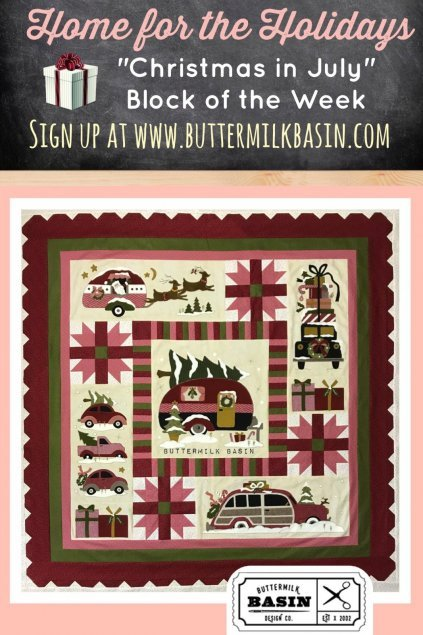 Buttermilk Basin Quilt Patterns - Home for the Holidays Quilt
