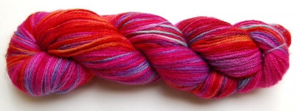Abstract Fibers Supersock-Valentine
