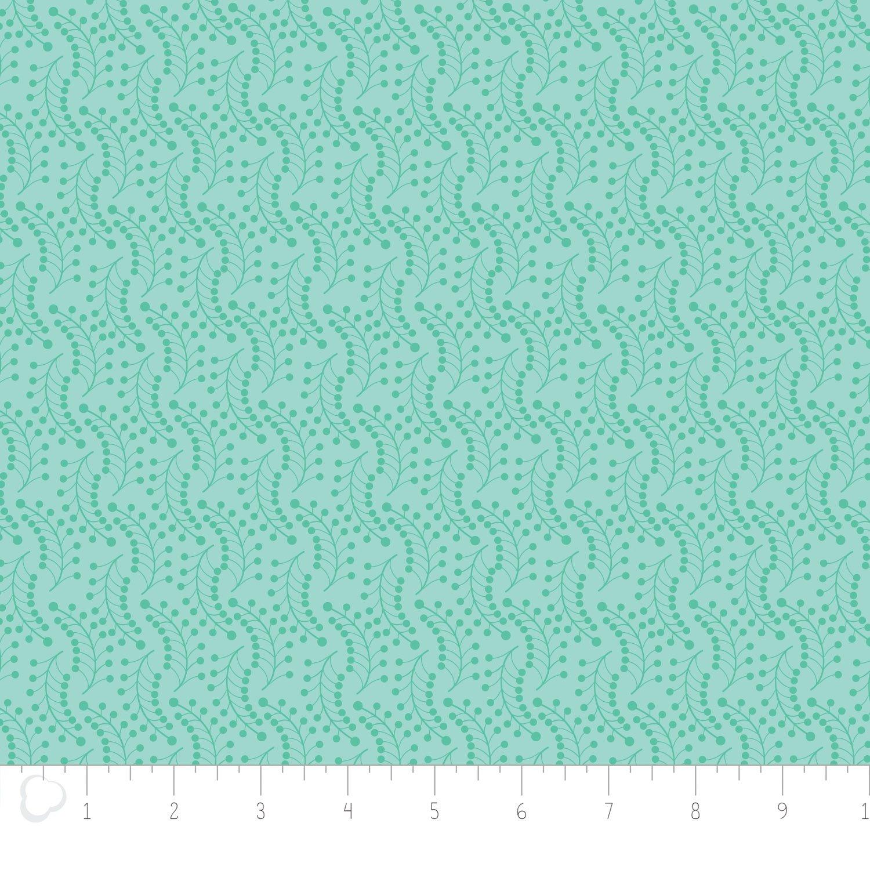 Camelot Fabrics-Jungly by Andrea Turk-Vines in Aqua