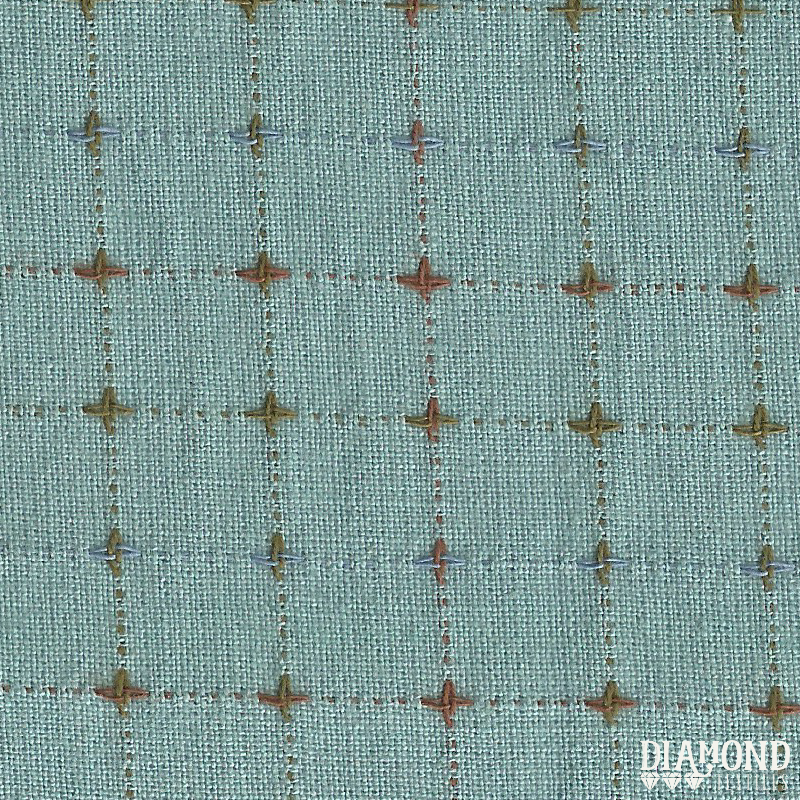 Diamond Textiles - Nikko Collection - Seafoam