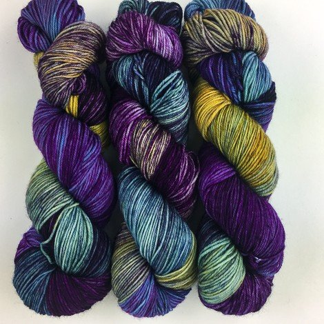 Dragonfly Fibers - Djinni Sock - Maggie May - Vintage Edition