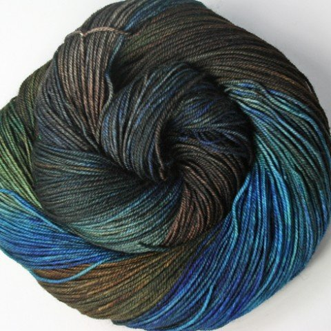 Dragonfly Fibers - Djinni Sock - Rocky Top - Vintage Edition