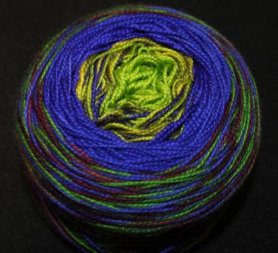 Done Roving-Frolicking Feet-Transitions-Spring Meadow