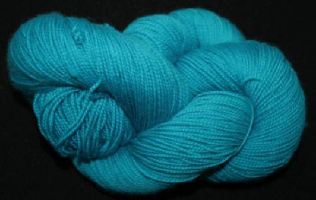 Done Roving-Frolicking Feet-Soft Teal Turquoise