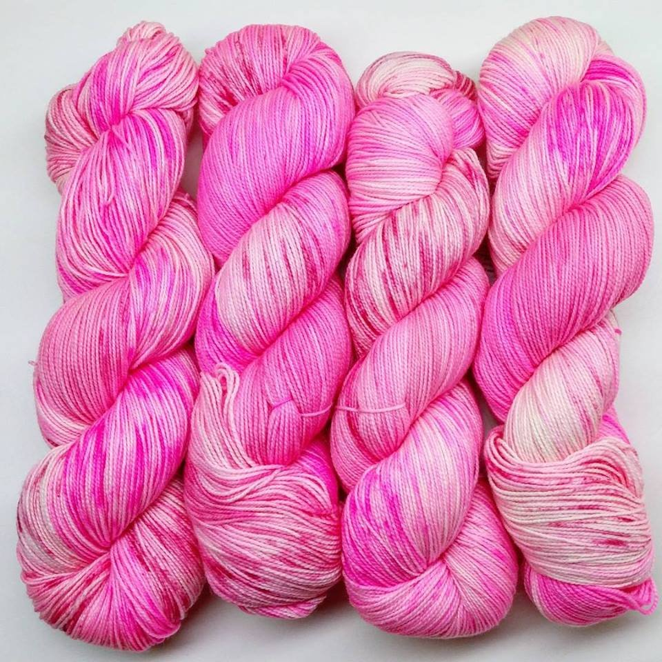 The Fiber Seed Yarn - Sprout Sock - Color of the Month Club - February 2018 - Baby Girl