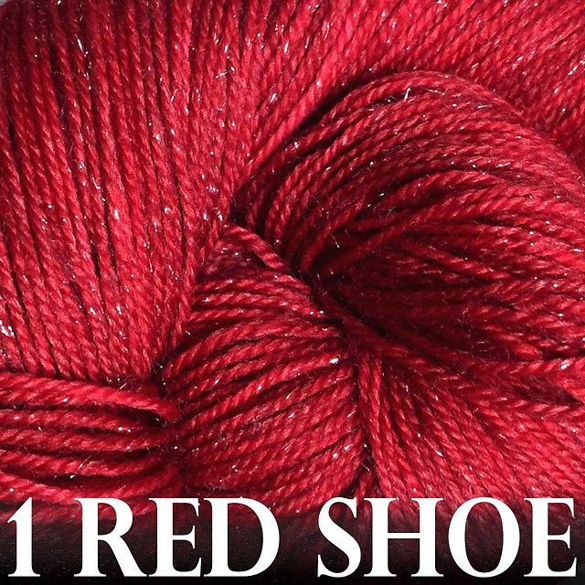 Anzula Luxury Yarns - Nebula -  1 Red Shoe