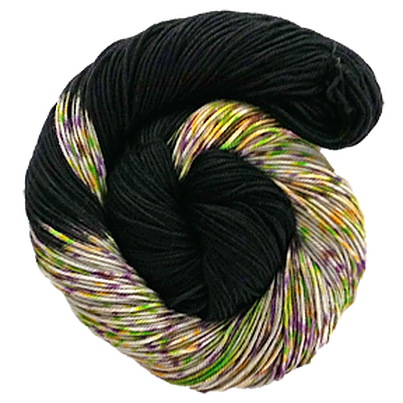 The Fiber Seed - Sprout DK - Half Speckled - Which Witch