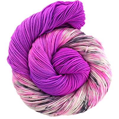 The Fiber Seed - Sprout DK - Half Speckled - Harold's Purple Crayon