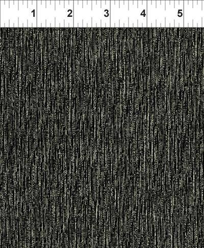 In The Beginning - Texture Graphix -Vertical - Black/Beige