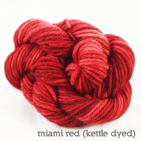Dream in Color-Classy Kettle Dyed-Miami Red