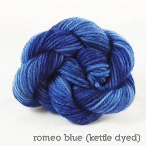 Dream in Color-Classy Kettle Dyed-Romeo Blue
