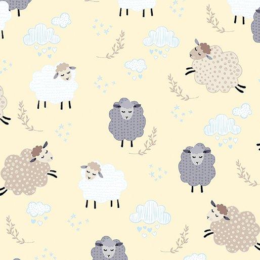 Kanvas Studios - Sweet Dreams - Dreamy Sheep - Buttercream