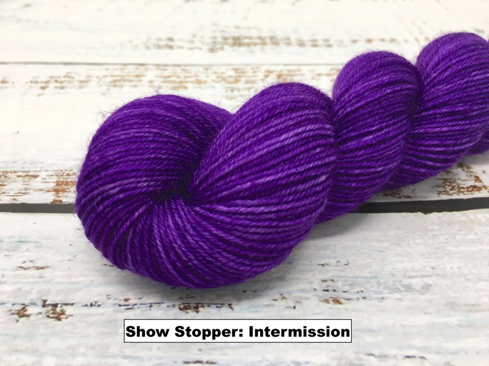 Leading Men Fiber Arts - Show Stopper - Heliotrope