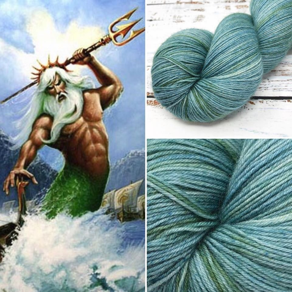 Leading Men Fiber Arts - Intermission - Poseidon