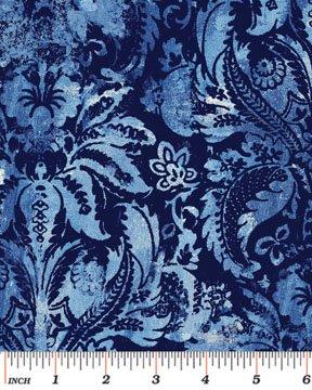 Venezia Tapestria-Navy