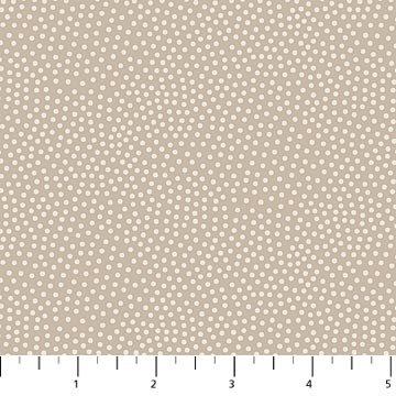 Northcott - Dolce Vita - Tuscany - Small Dots - LT. Taupe