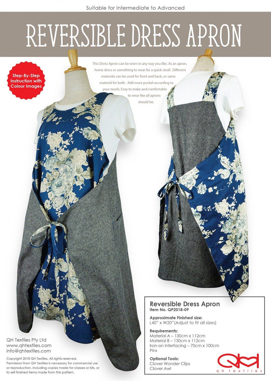 QH Textiles - Reversible Dress Apron
