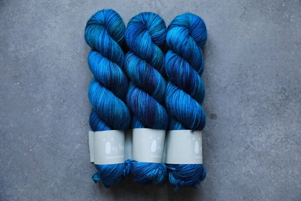 Qing Fibre - Super Soft Sock - Deep Sea