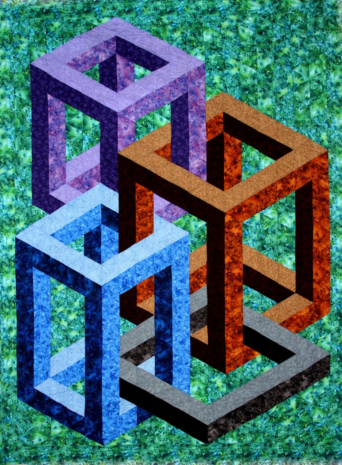 Quilter's Clinic 3D Quilt Patterns