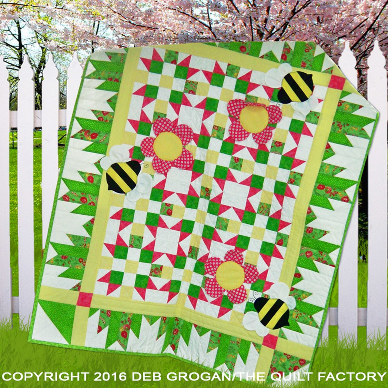 The Quilt Factory Patterns - Busy Bees