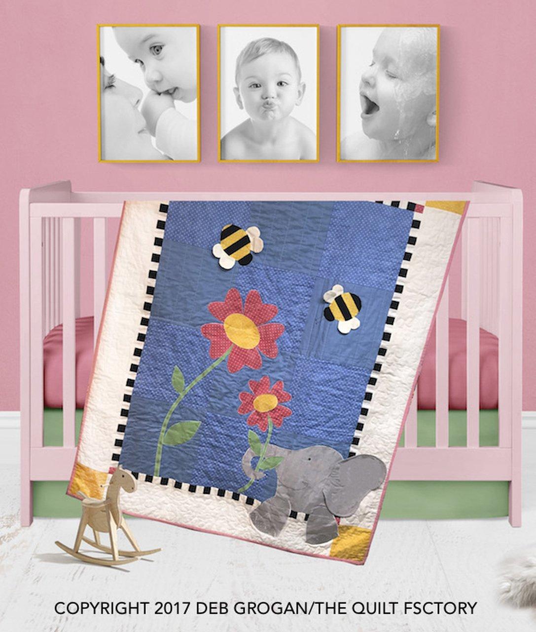 The Quilt Factory Patterns - Eloise Elephant