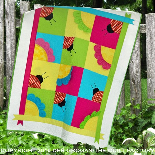 The Quilt Factory Patterns - Ladybug Garden