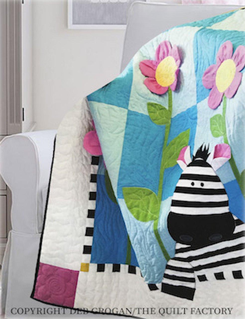 The Quilt Factory Patterns - Zoe Zebra