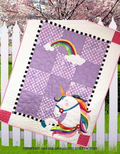 The Quilt Factory Patterns - Urbi Unicorn