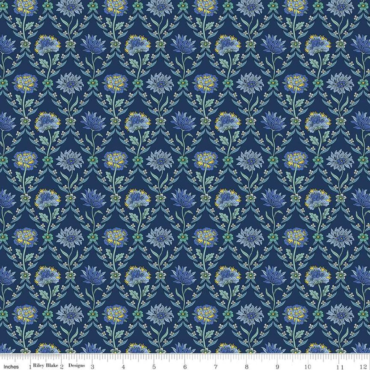 Liberty of London - The Summer House Collection - Kew Trellis - Navy