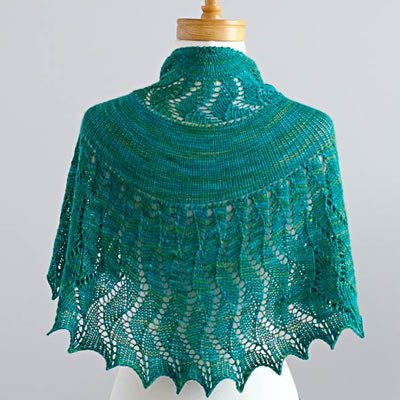 Rushing Tide Shawl