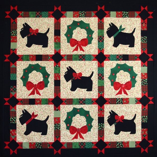 A Scottie Christmas Greeting