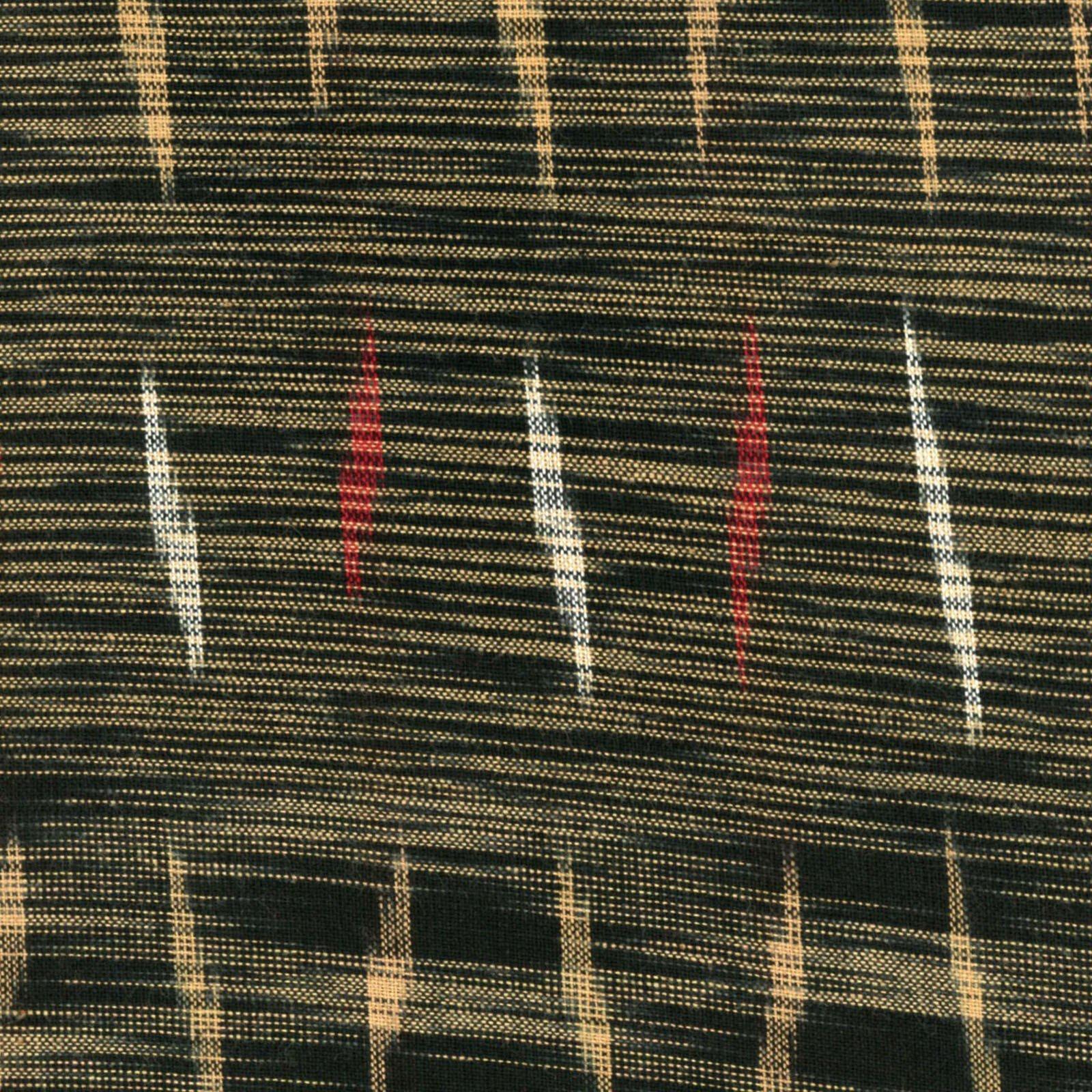 Textile Creations - Seminole - Lightning Bolt - Black/Khaki/Red/White