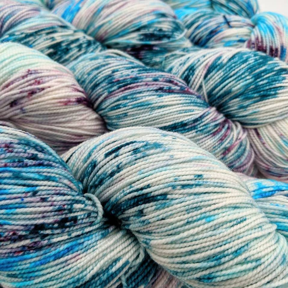 The Fiber Seed Yarn - Sprout Sock - Color of the Month Club - July 2019 - Calypso