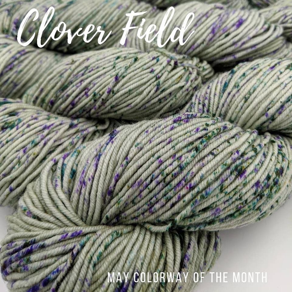 The Fiber Seed Yarn - Sprout Sock - Color of the Month Club - May 2019 - Cloverfield