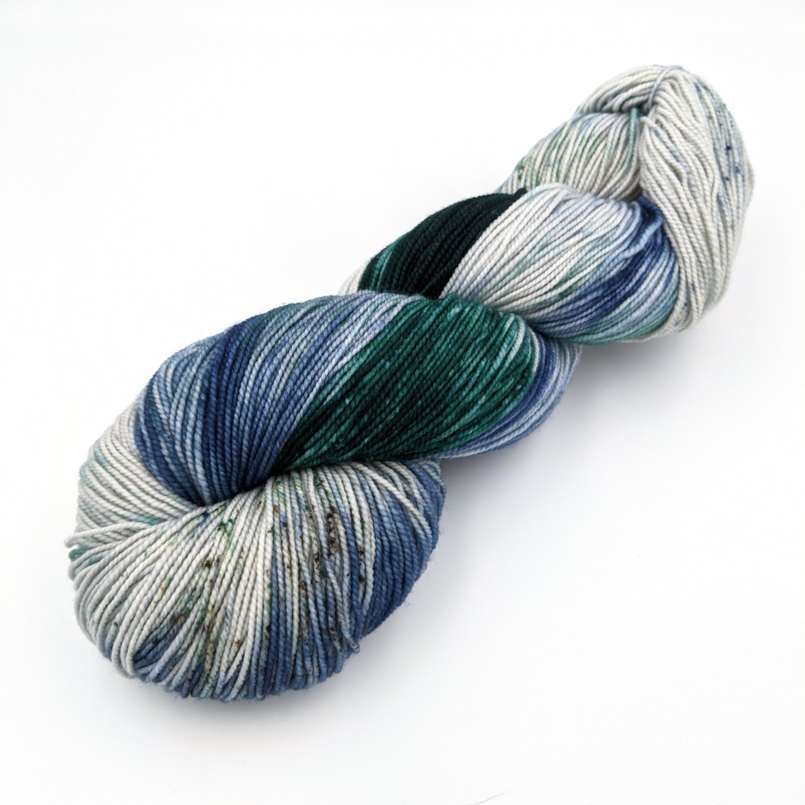 The Fiber Seed Yarn - Sprout Sock - Color of the Month Club - April 2020 - Happy Little Trees