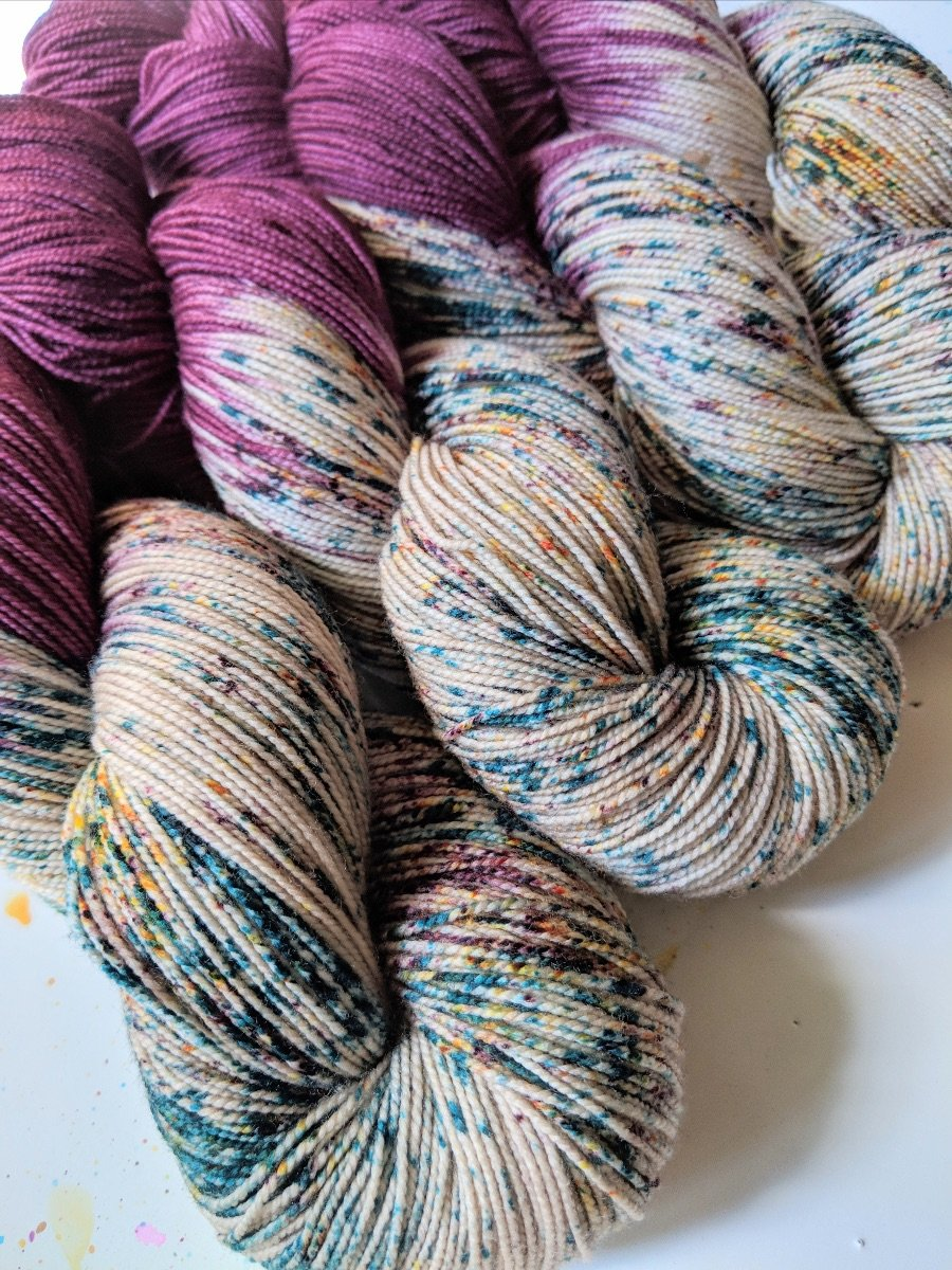 The Fiber Seed Yarn - Sprout Sock - Color of the Month Club - November 2018 - Hinterland