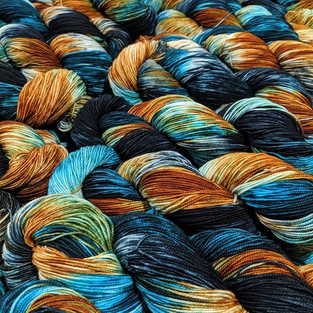 The Fiber Seed Yarn - Sprout Sock - Color of the Month Club - October 2019 - Fox Hollow