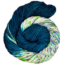 The Fiber Seed - Sprout DK - Half Speckled - Peacock