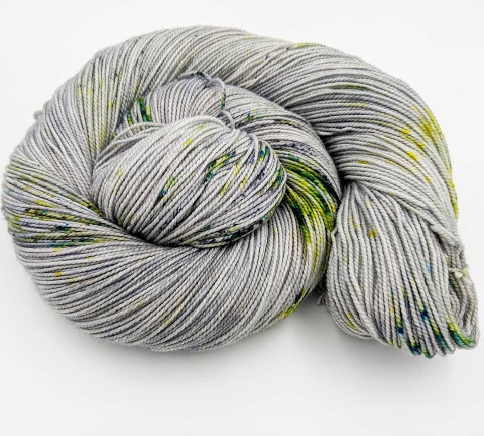 The Fiber Seed Yarn - Sprout Sock - Color of the Month Club - May 2018 - Rock Creek