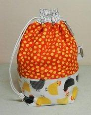 Tika Bags-Slick Wristlet-Chicken