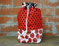 Tika Bags-Slick Wristlet-Ladybugs