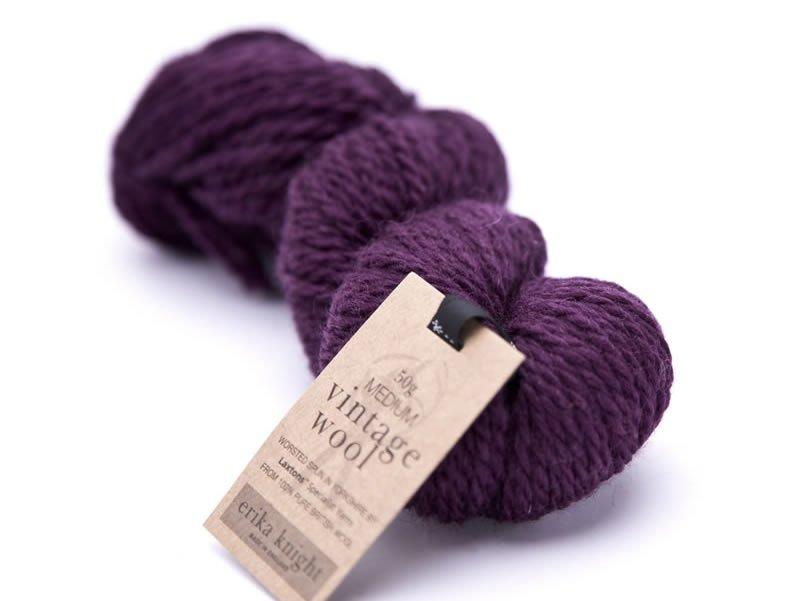 Vintage Wool-Mulberry