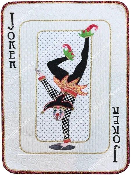 Zebra Patterns - Big Deal Playing Cards - Joker