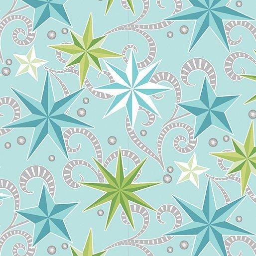 NORDIC HOLIDAY 1882-05 STARS BLUE