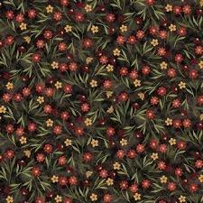 BEAR PAWS 00683-12 FLOWERS BLACK
