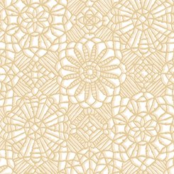 AMAZING LACE 24632-ZE TAN WHITE