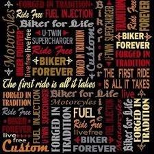 BIKER FOR LIFE 26019-J