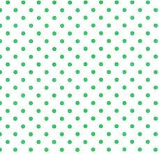 CRAZY FOR DOTS & STRIPES 8174-1 GREEN DOTS