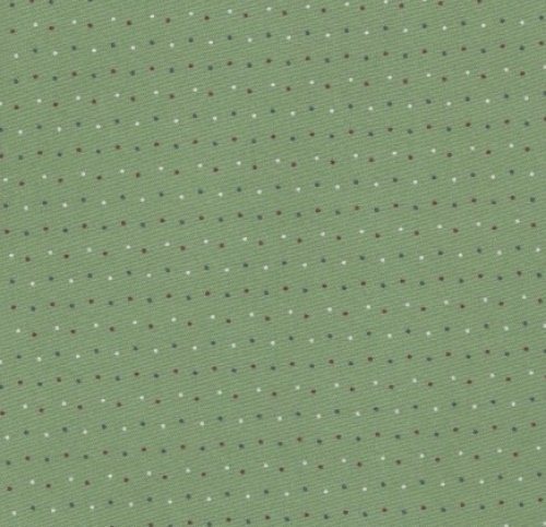 DARK GREEN DOTS, BF110